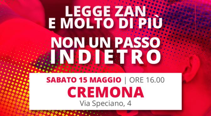Non Un Passo Indietro | Cremona | Mobilitazione Nazionale