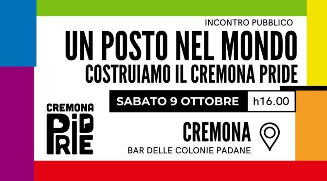 """Evento """"Costruiamo il Cremona Pride"""""""