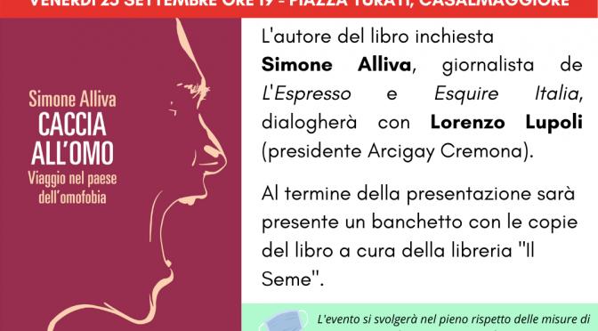 """Presentazione """"Caccia all'omo"""" di Simone Alliva"""